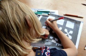 Childrens workshops at Nantwich Museum 1024