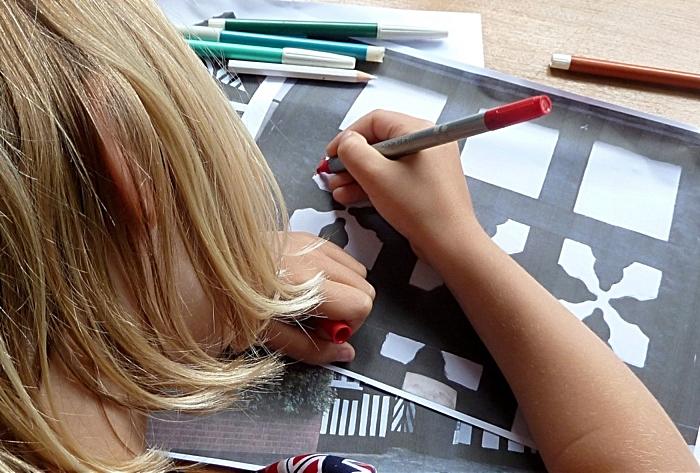 Childrens workshops at Nantwich Museum 2 2015 (1)