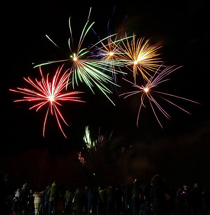 Chinese New Year fireworks Highfields Academy