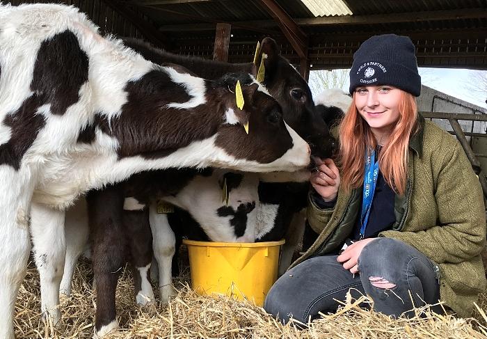 apprentices - Chloe Cooper best - farmer