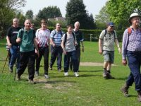 Wybunbury walk raises Marie Curie Cancer funds