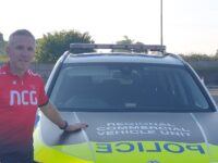 Officer hit by Covid pedals from Nantwich to London for charity