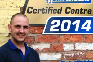 South Cheshire tyre fitter completes Michelin Academy