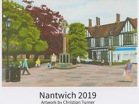 Artist Christian Turner produces Nantwich 2019 calendar