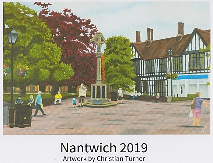 Christian Turner - Nantwich 2019 calendar - cover