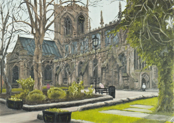 Christian Turner - Nantwich - St Mary's Church