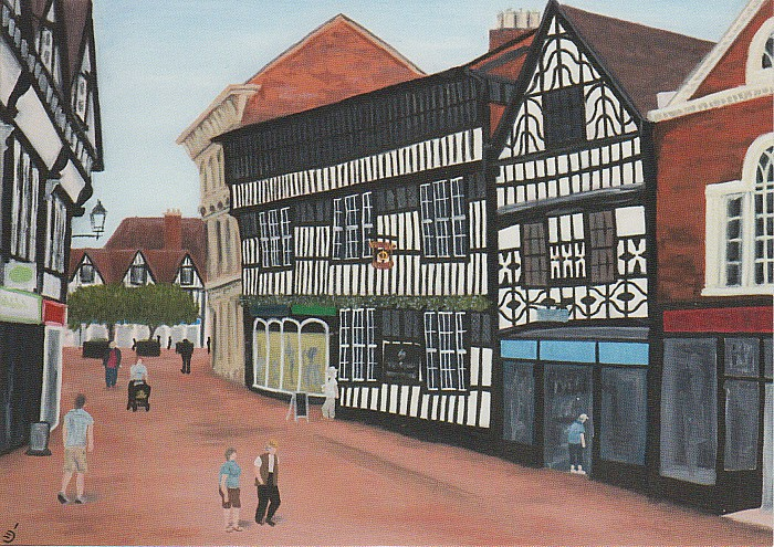artist Christian Turner - The Crown Hotel Nantwich