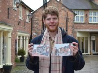 Young autistic artist unveils new Nantwich scene oil paintings