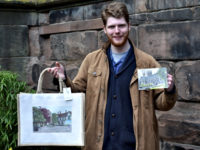 Artist unveils latest oil paintings of Nantwich scenes