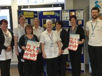 Leighton Hospital staff poster campaign raises MRI scanner funds