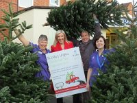St Luke's Hospice to run Christmas tree collection service