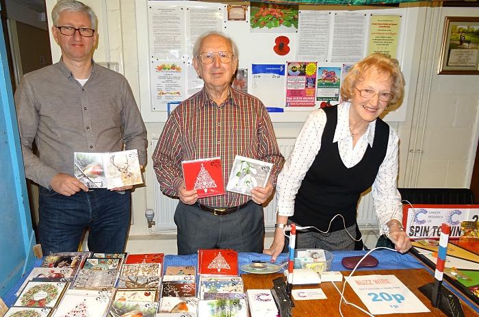 christmas-card-and-buzzer-stall-l-r-michael-astbury-john-astbury-audrey-astbury
