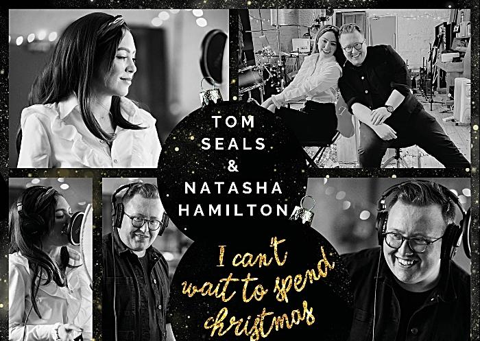 Christmas with you artwork - Tom Seals and Natasha Hamilton