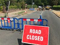 Wistaston 'Church Lane chasm' repairs finally underway after two weeks