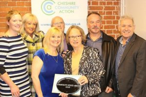 Church Minshull named Community Spirit champion at awards