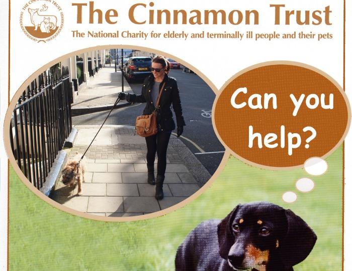 Cinnamon Trust poster