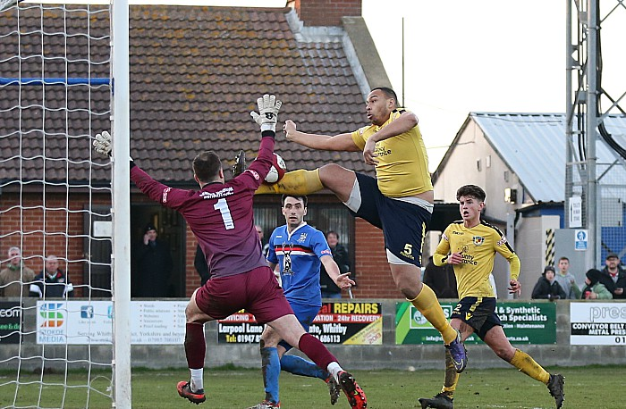 Clayton McDonald shoots over the bar on 87 minutes
