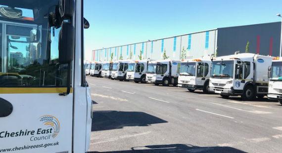 Cledford Hub - ANSA bin lorries - hydrogen