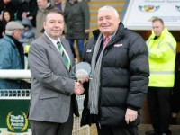 Nantwich Town's Clive Jackson receives long service award