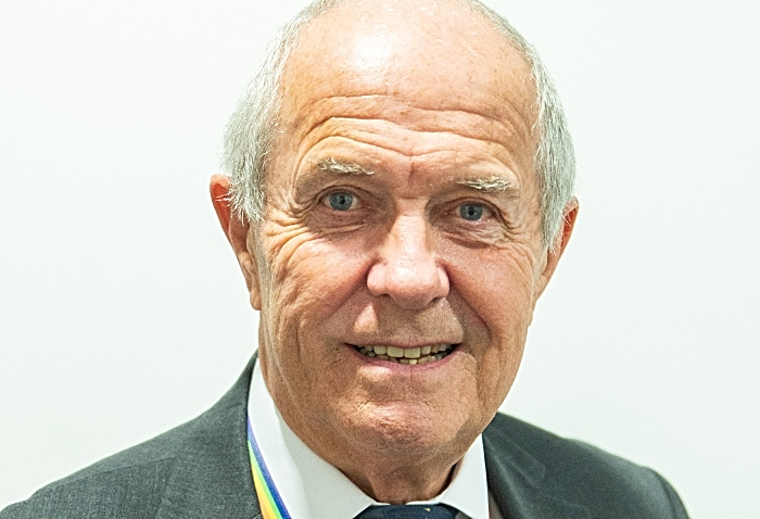 Cllr Bob Rudd, chair of cheshire fire authority