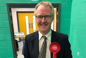 Cllr Sam Corcoran, new Cheshire East Council leader