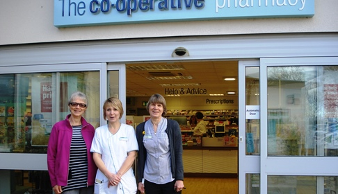 Pharmacies in Nantwich and Crewe join Age UK Cheshire campaign