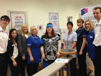 RBS and Co-operative staff in Nantwich raise thousands for MRI appeal