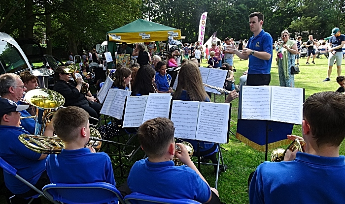 Co-operative wind bands (Crewe) perform (1)