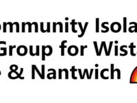 Community Isolation Help Group set up for Wistaston, Nantwich and Crewe