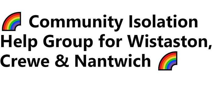 Community Isolation Help Group for Wistaston, Crewe & Nantwich Facebook group - logo (1)