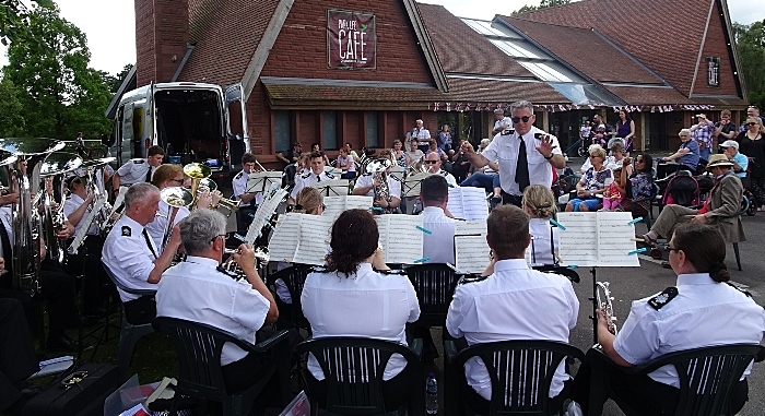 Concert by The Band & Drums of the Cheshire Constabulary (1)