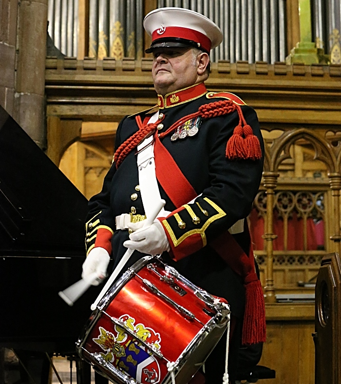Concert organiser and Cheshire Drums and Bugles drummer Robert Richardson (1)