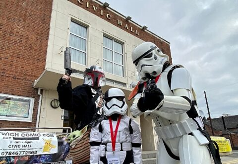 Nantwich Comic Con Market is hit with the public