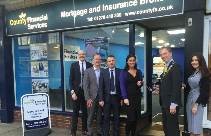 County Insurance, County Financial Services New Office in Nantwich