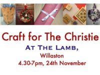 Christie Hospital charity event at The Lamb in Willaston