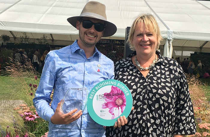 Craig Bailey, RHS Director General Sue Biggs