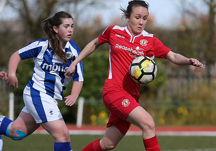 Crewe Alex Ladies vs Chester FC Women - Crewe on the attack