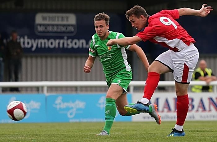 Crewe Alex shot at goal (1)