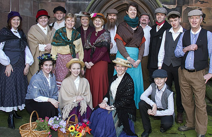 Crewe Amateur Musicals Society's 'My Fair Lady' 4