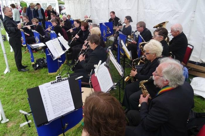 Crewe Concert Band with conductor Glenn Thomas