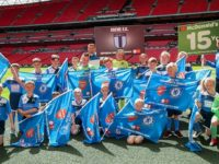Football youngsters enjoy Wembley experience at Community Shield game