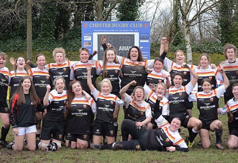 Crewe & Nantwich RUFC Ladies march on with victory over Chester