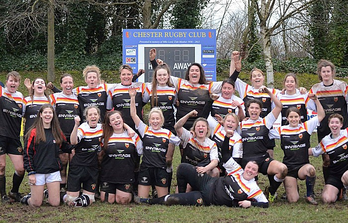 Crewe & Nantwich Ladies RUFC beat Chester Devas 29-0