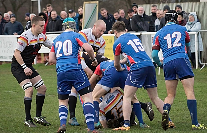 Crewe & Nantwich RUFC 1sts rugby v Leek 3