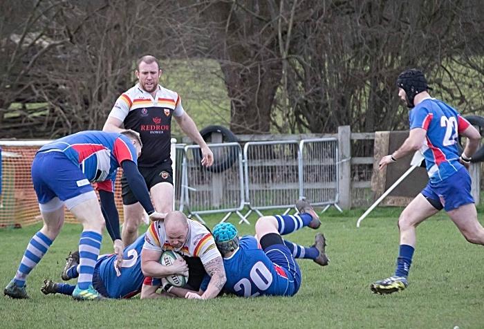 Crewe & Nantwich RUFC 1sts rugby v Leek 4