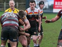Crewe & Nantwich RUFC narrowly beaten by Camp Hill