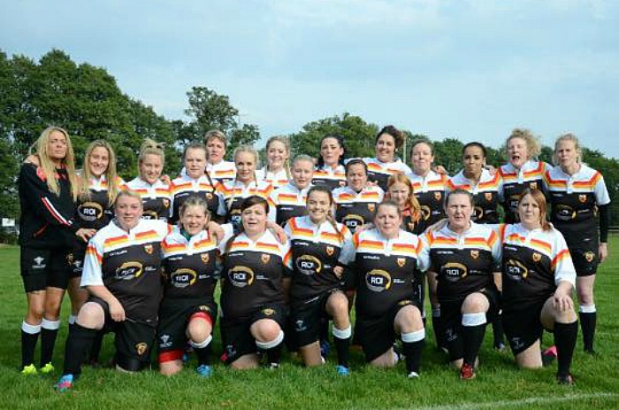 Crewe & Nantwich RUFC ladies team