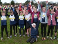 Young Crewe & Nantwich athletes storm to success in cross country