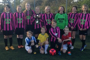 Crewe & Nantwich U12s girls crowned champions