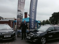 Gateway Peugeot balloon challenge raises cash for Nantwich groups